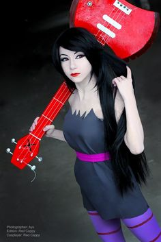 Marceline (Adventure Time) - Cosplay and Costumes #cosplay L.A.R.P. costume