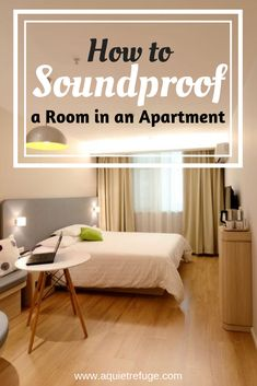 How To Soundproof A Room In An Apartment Here You Can Find Some Of