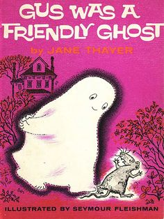 This was my favorite book as a child!  I loved when he ate cheese puffs with Mouse.  Its always nice when ghosts eat cheese puffs with Mice.  :)