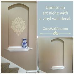 Wall Niche Decor the elusive art niche | art niche, iron and niche decor