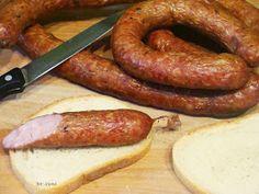 Homemade Sausage Recipes, Meals, Smokehouse, Food, Recipes, Roast, Recipies, Meal, Essen