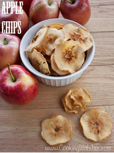 Cooking with Jax: Apple Chips