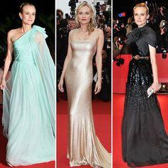 Best Diane Kruger Red-Carpet Dresses