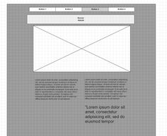 website example Wireframe, Bar Chart, Banner, Layout, Website, Banner Stands, Page Layout, Bar Graphs, Banners