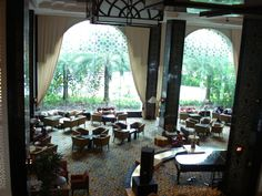 Tea lounge at Hotel Istana. Istana means palace in Malay language. Spending an hour or so here and enjoy iced lemon tea in the afternoon is a real luxury.