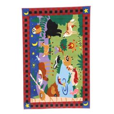 Found it at Wayfair - Olive Kids CampFire Friends Area Rug