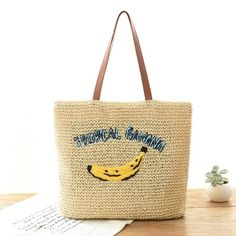 14.33$  Watch now - Hot sale Straw Bag Women Beach Bag Hand-Made Woven Women's Shoulder Handbag Messenger Bags Solid Travel Purse Women bags Summer  #buychinaproducts