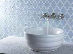 backsplash bathroom - Google Search