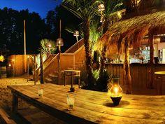 28 Grad - Beachclub  Elbstrand Hamburg/Wedel