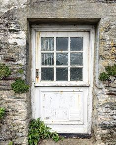 Think I have a thing for doors. Cornwall, Behind The Scenes, Garage Doors, Outdoor Decor, Instagram, Carriage Doors