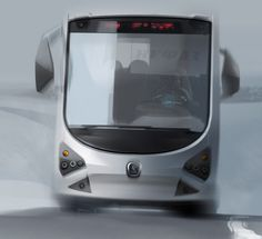 BUS_Mix by vadim gousmanov, via Behance