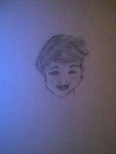 I drew this by: MARISSA