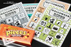 Halloween BINGO FREE printables! From www.TheCraftingChicks.com