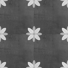 DELLA TORRE Fiona Black and White x Glazed Porcelain Encaustic Floor and Wall Tile at Lowe's. Experience a unique combination of timeless Italian design. History and style collide with this old world black and white encaustic pattern tile. Mosaic Wall Tiles, Lowes Backsplash Tile, Lowes Tile Bathroom, Downstairs Bathroom, Black And White Tiles, Black And White Backsplash, Black And White Flooring, Green Cabinets, Encaustic Tile