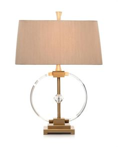Limited Production Design & Stock: Elegant Spiral Glass Console Lamp * Brass Accents * Sand Silk Shade * 150 Watts A Bulb * H: 29 inches