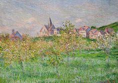 Printemps à Giverny, effet du matin (C Monet - W 986) | Flickr