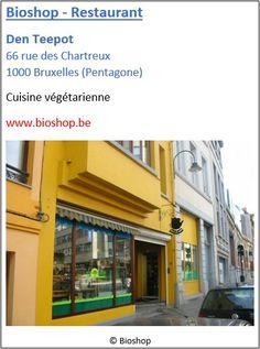 Restaurant-Bioshop Den Teepot - 66 rue des Chartreux - Pentagone