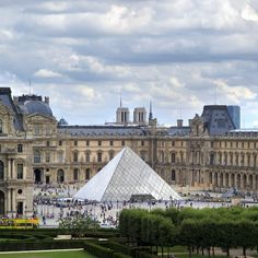 Louvre Museum and Pei''s Pyramid. When designing the pyramid, architect I.M. Pei was mindful to keep the structure below the surrounding buildings, ensuring the modern addition would be as unobtrusive as possible.