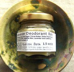 Lavender Cedarwood Deodorant Balm
