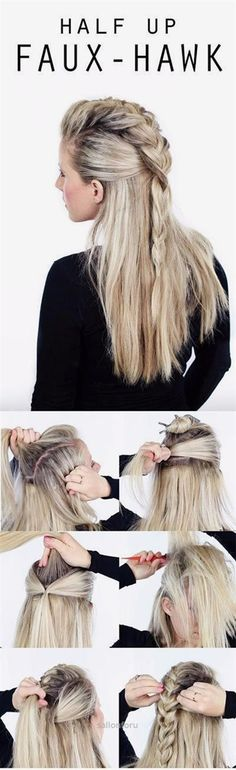 Outstanding These Half Up hairstyle tutorials are great for that impeccable look. Also, they are easy to style and works for both, medium to long hair. The post These Half Up hairstyle tutorials are great for that impeccable look. Also, they… appeared first on Hair and Bea ..