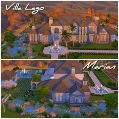 Casas de los sims 4