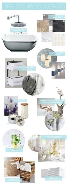 create your own spa bathroom // apartment therapy