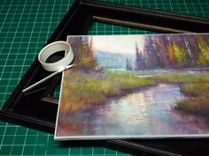 Framing Tips for Pastel Paintings | Reusing Frames. From Richard McKinley's Pastel Pointers. ~ch