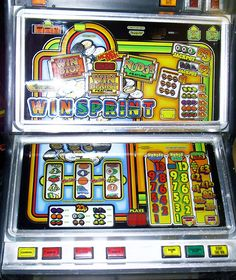 WIN-SPRINT by JPM .. I used to have one of these :) Retro Arcade Machine, Pinball, Fruit, Classic, Derby, Classic Books