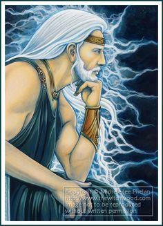 Zeus - GMO Card 27 by ravynnephelan