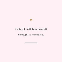 Love Yourself | Exercise Inspiration. >> Discover even more at the photo