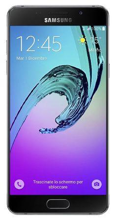 Samsung SM-A510FZKAITV Galaxy A5 Smartphone, 16 GB, Nero [Italia]