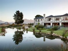 Two of the 5 Most Exclusive Residential Estates In South Africa is in the Franschoek and Paarl valley - Val de Vie Polo Estate and Pearl Valley Golf Estate. Golf Estate, Real Estate, Lush Garden, Places Of Interest, Coastal Homes, South Africa, Scenery, Wealthy People, Upper Crust