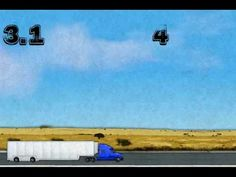 """18 Wheels on a Big Rig - Fun counting song with some Roman Numerals mixed in. Recorded by the fantastic, """"Trout Fishing In America."""""""