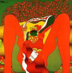 Keiichi Tanaami - The Savage Eye, 1966