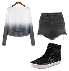 """""""Untitled #46"""" by sherrysands ❤ liked on Polyvore featuring Alexander Wang, Rebecca Minkoff, women's clothing, women's fashion, women, female, woman, misses and juniors"""