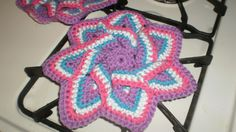 Not 1 but 2 Floral Hot Pads Handmade $29.95 Pick up Cameron, Ontario