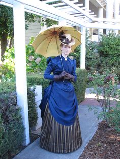 1887 Victorian Bustle Dress - CSUC, 2012