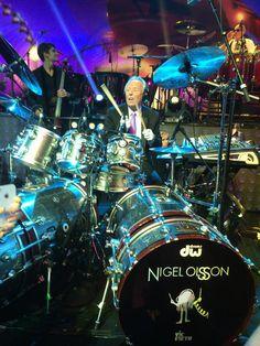 Nigel Olsson drummer of Elton John
