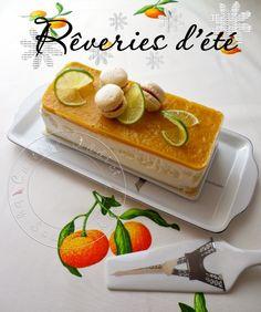 Bavarois Citron vert, Noix de Coco & Fruits exotiques - Cuisine Addict - Recettes faciles et bluffantes!