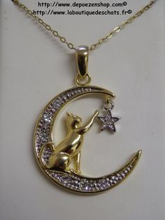 Elysium gold and silver pendants and necklaces with #cats found at http://www.depoezenshop.com/ from $30