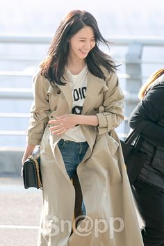 SNSD YoonA goes to Hong Kong for DIOR's event