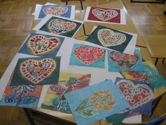 Picture of Batik on canvas tutorial for beginners and children 5th Grade Art, Batik Art, Art Classroom, Classroom Ideas, Camping Crafts, Old Art, Business For Kids, Beautiful Paintings, Art Education