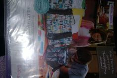 spend $35 this month and get a medium utility tote or just $7. this is the monthly special spot in my 31 swatch book.