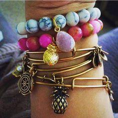 Pineapple bracelets