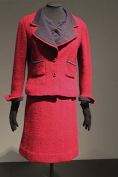 """Gabrielle """"Coco"""" Chanel """"Three-piece Suit"""" (Mid-1950s Paris) Tweed and jersey"""