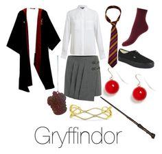"""Gryffindor"" by brizymc on Polyvore"