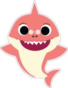 Bday Girl, Boy Birthday, Shark Family, Shark Party, Baby Shark, 2nd Birthday Parties, First Birthdays, Family Vector, Crafts