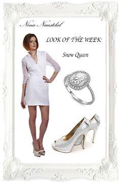 Look of the week: Snow Queen Shop it on: nina-naustdal.com/shop/