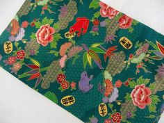FORTUNA Fabric Fat Quarter Cotton Craft Quilting Border Stripe Floral Metallic