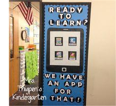 Thigpen's Kindergarten: All Things Bulletin Boards! Primary Classroom, Bulletin Boards, Back To School, Kindergarten, App, Learning, Creative, Bulletin Board, Studying